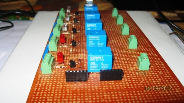 Relay Controller Board Open Source Home Automation Project using Arduino UNO + Ethernet Shield