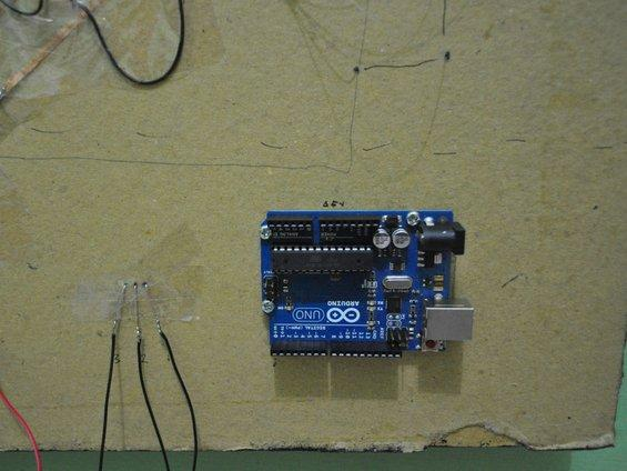 Arduino and IR Receiver on Board
