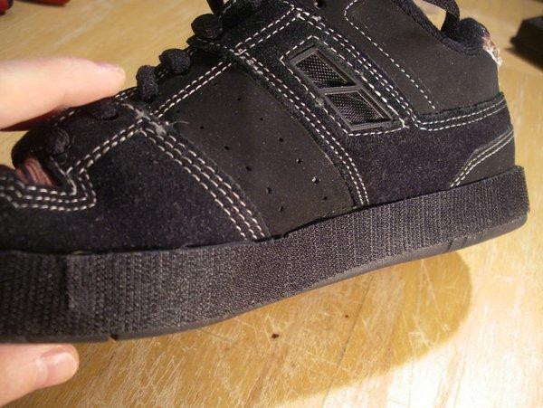 Attach Velcro to Sneaker