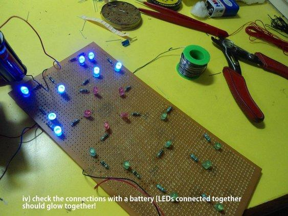Construct the LED Circuit