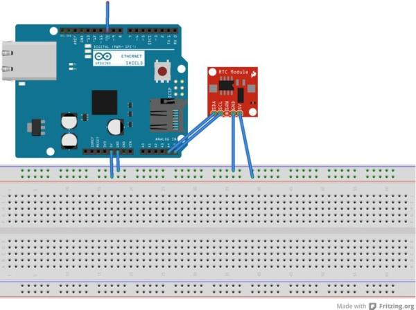 Wiring Up the Arduino