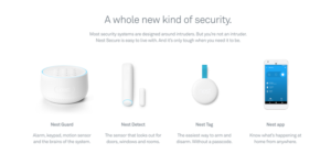 Nest Smart Home Product and Services
