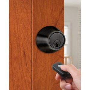 Milocks Single Cylinder Electronic Deadbolt with Remote