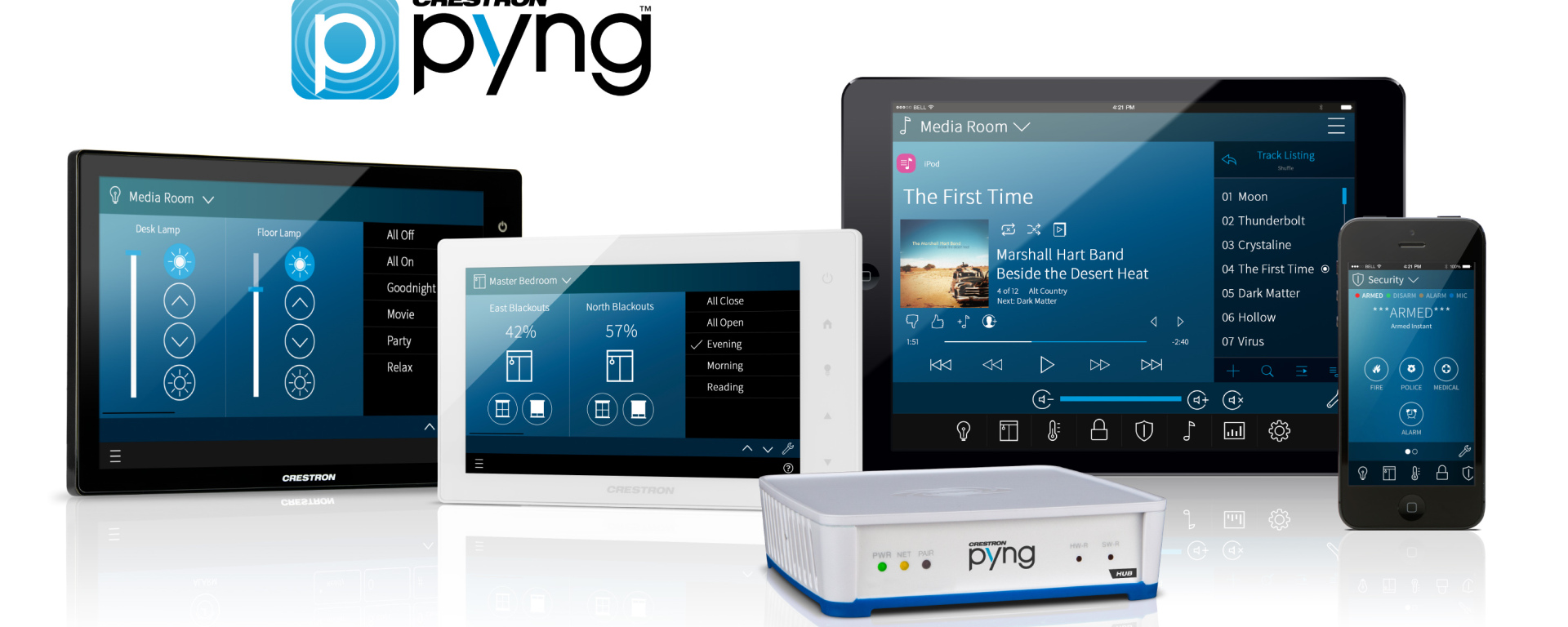 Crestron PYNG App