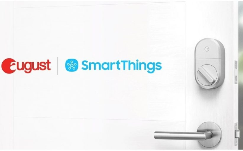 Integrate August Smart lock directly with Samsung SmartThings
