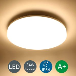 Lighting EVER LE 24W Dimmable LED Ceiling Waterproof IP54