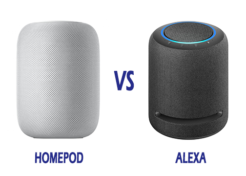 Apple Homepod Vs Alexa