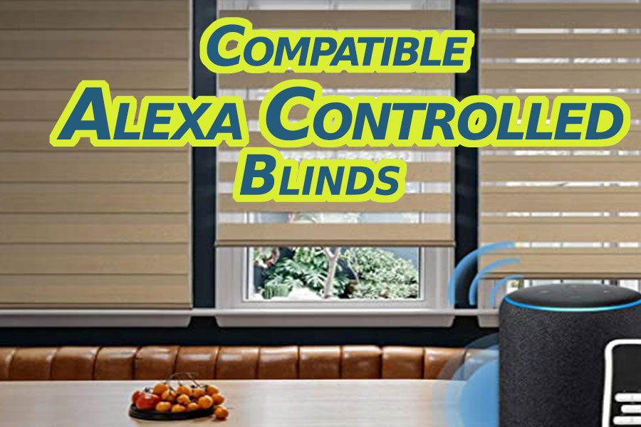 Compatible Alexa Controlled Blinds