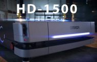 The HD-1500 mobile robot at Omron Automation
