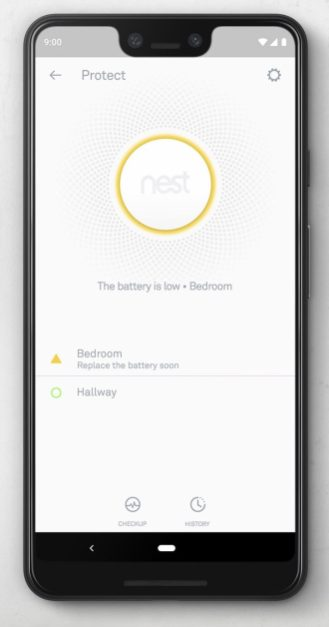 google home nest protect 2