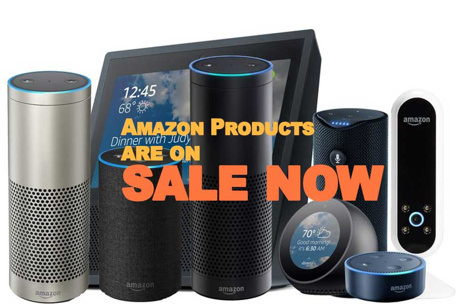 Amazon Products are on sale now