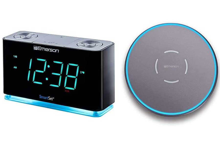 Smart Alarm Clock with Wireless Charging