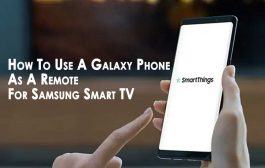 How To Use A Galaxy Phone As A Remote For Samsung Smart TV