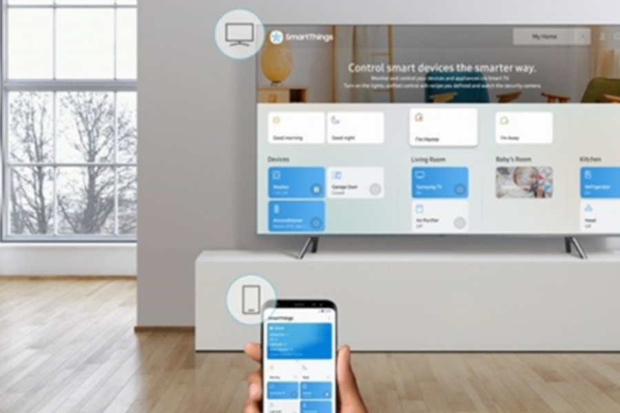 Replaced with SmartThings by Samsung Smart View App